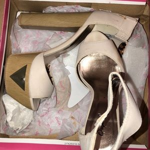 Shoes - MOVING! Need gone! Cream color platform